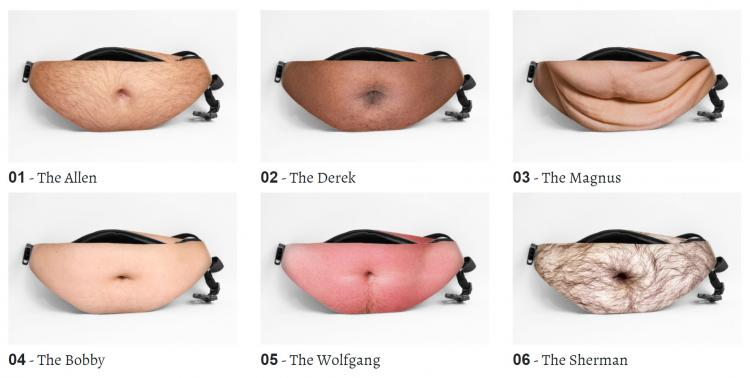 Dad Bag Fake Belly Waist Pack 2018 Cyberpunkist