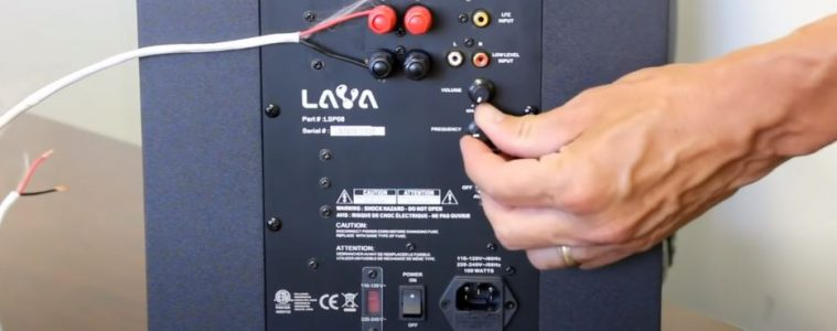 How to Connect a Home Audio Subwoofer