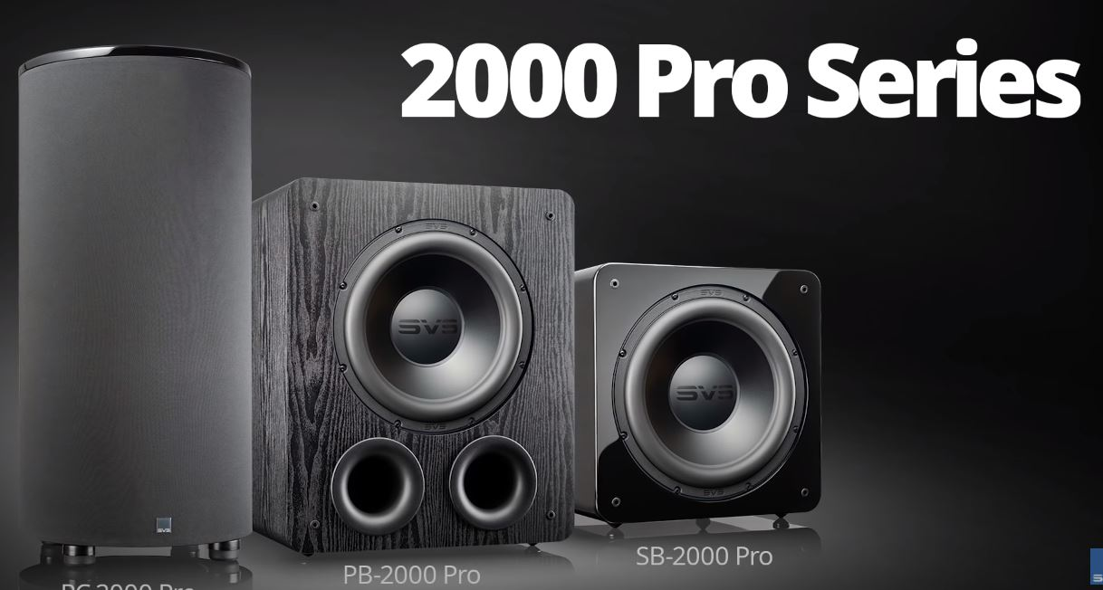 SVS introduces 2000 Pro Series Subs