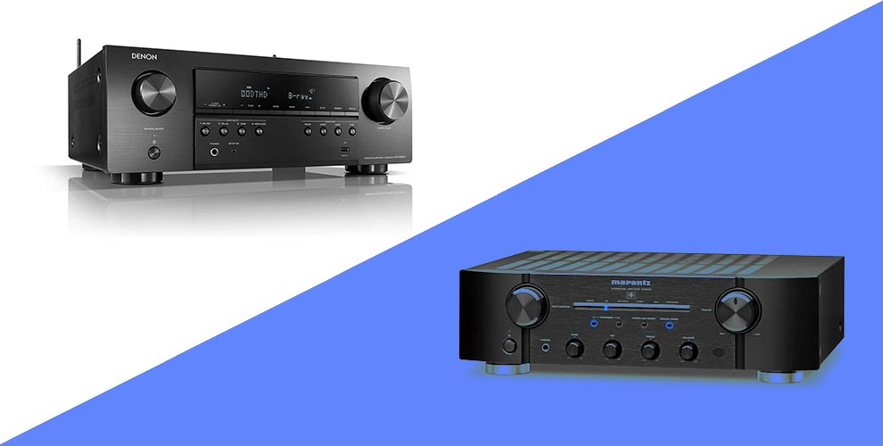 Denon vs Marantz Comparing Integrated amplifiers and AV receivers