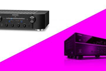 Marantz vs Yamaha – Integrated amplifiers compared