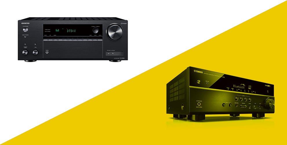 Onkyo vs Yamaha receivers stereo